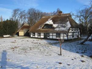 Freesenort auf Ummanz. Die nahezu unveränderte kleine Siedlung wurde erstmals 1319 in Urkunden nachgewiesen.