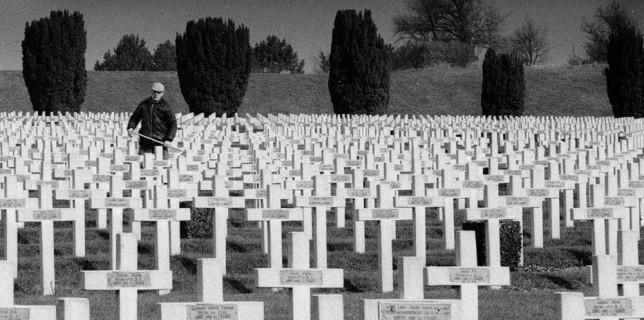 Mein Sohn Jörg hat sich mit 19 auf den Weg nach Frankreich gemacht und auch das ehemalige Schlachtfeld von Verdun besucht. Sein Bild bedarf keiner weiteren Erläuterung. Foto: Jörg Levermann
