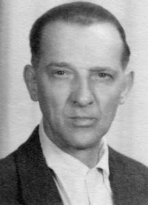 Franz Levermann (* 1895, † 1971), Soldat in zwei Weltkriegen, danach überzeugter Pazifist (Foto von 1951).