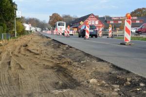 Der Radweg durch die Ortschaft Rambin wird von November 2014 bis Juni 2015 gebaut. In Samtens sind die Arbeiten erst einmal verschoben auf 2016.