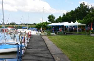 Gefeiert mit Rambinern wird jeden Sommer beim Hafenfest. Schon in den Anfängen des Vereins, als es noch keinen Hafen gab, wurde zum Strandfest eingeladen.