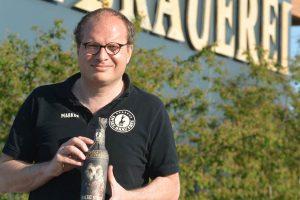 Erfüllte sich einen langgehegten Traum: Brauereigünder Marcus Berberich (45) eröffnete im August vorigen Jahres die Rügener Insel-Brauerei in Rambin. Wegen der großen Nachfrage wird er bis August die Kapazität verdreifachen.